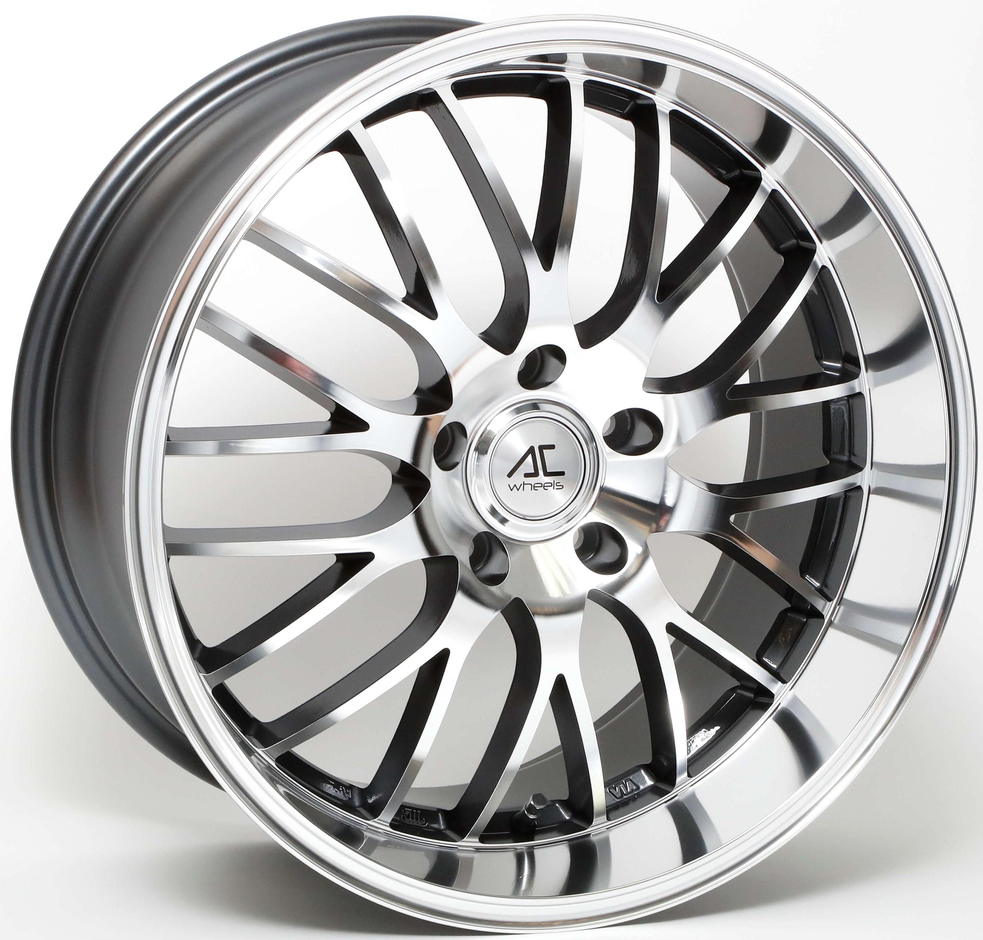 AC Wheels - Hypnotic (Grey Polished Face)
