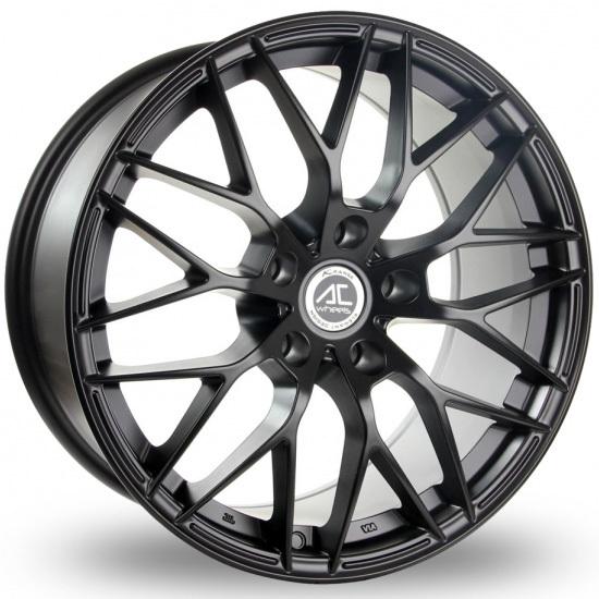 AC Wheels - Saphire (Matt Black)