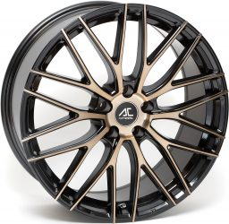AC Wheels - Syclone (Black Polished Bronze)