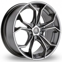 AC Wheels - Twist (Gunmetal Polished)