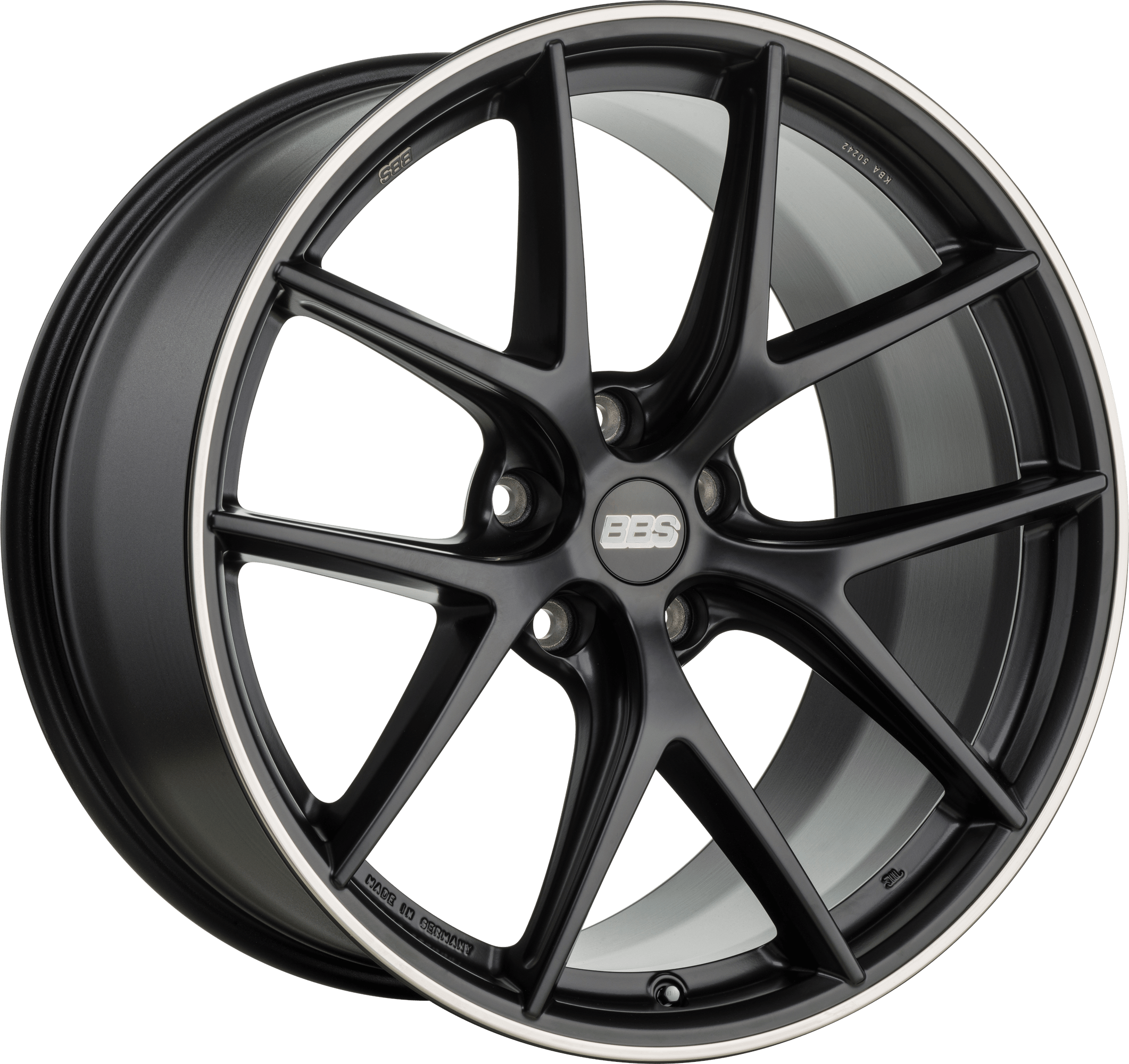 BBS - CI-R (Satin Black with Stainless Steel Rim Protector)
