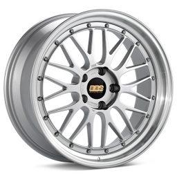 BBS - Le-Mans (Forged Split Rim) Lm (Decor Silver With Polished Rim)