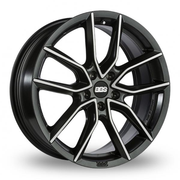 BBS - XA (Satin Black With Polished Face)