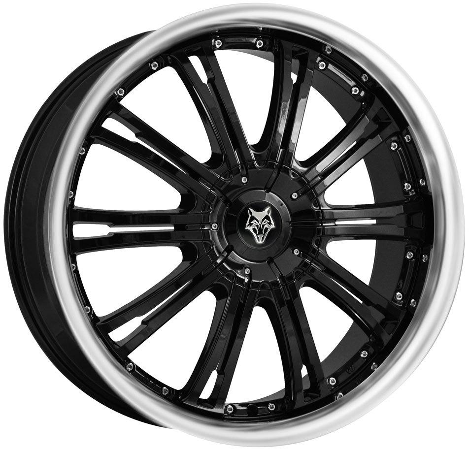 Wolf Design - Vermont (Gloss Black / Polished Lip)