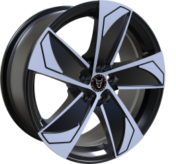 Wolfrace Eurosport - AD5 (Gloss Black / Polished)