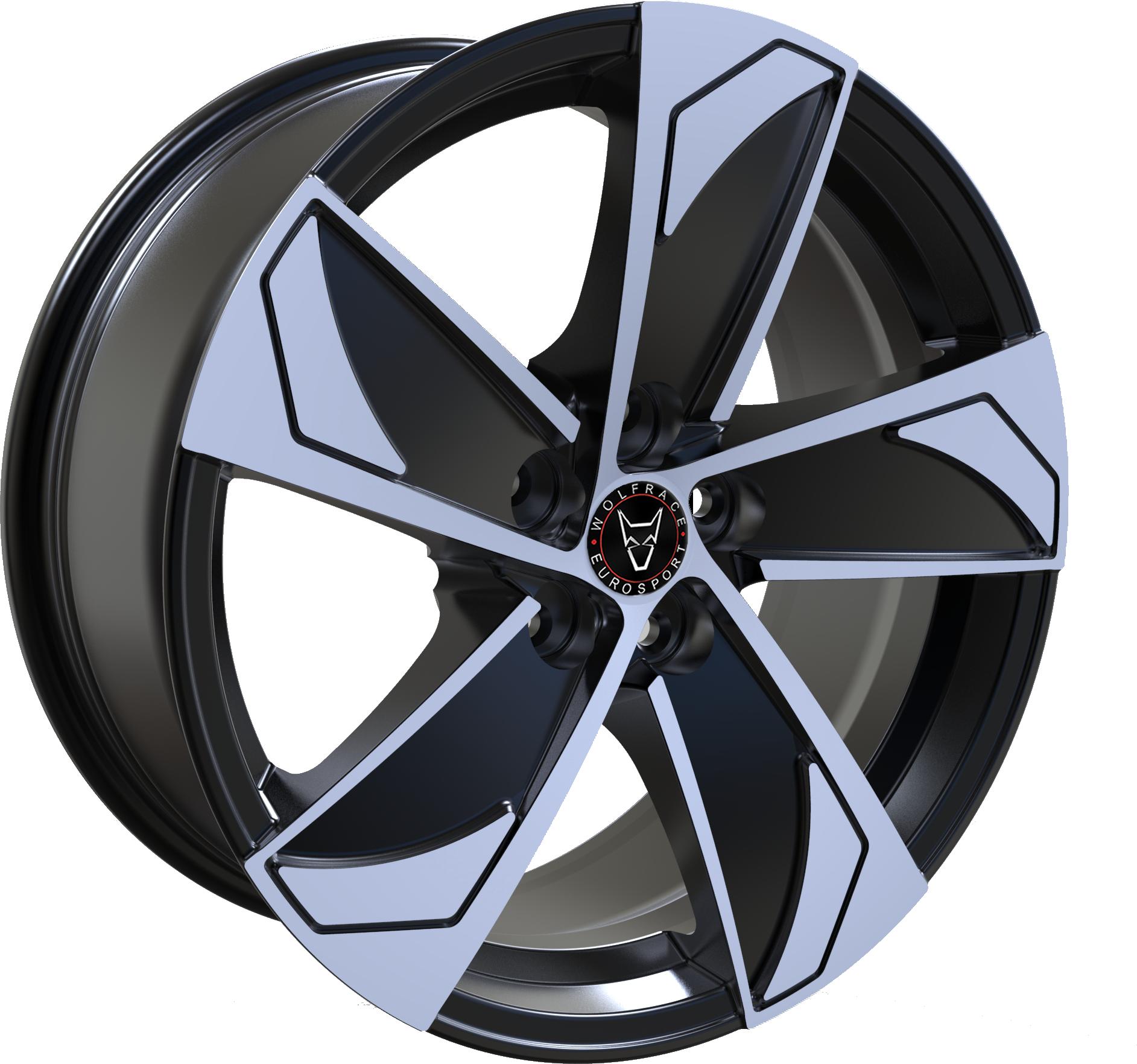 Wolfrace Eurosport - AD5 (Gloss Black / Polished)