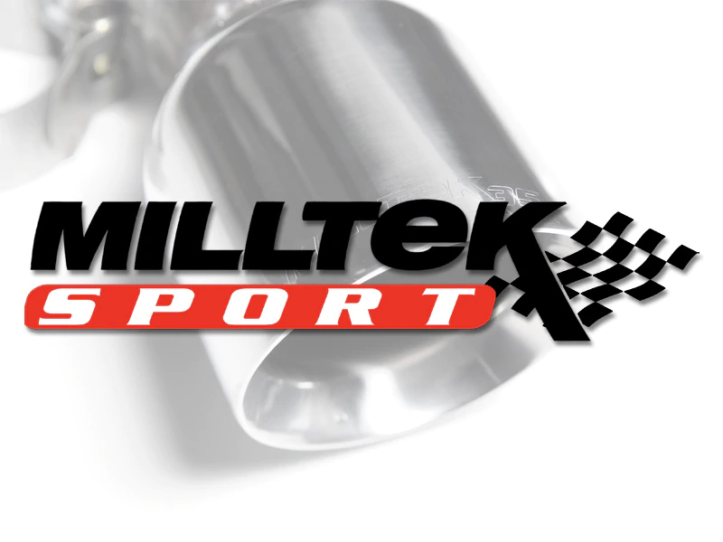 Milltek Large-bore Downpipe and De-cat - 3 Series F30 328i M Sport  Automatic (without Tow Bar & N20 Engine Only)