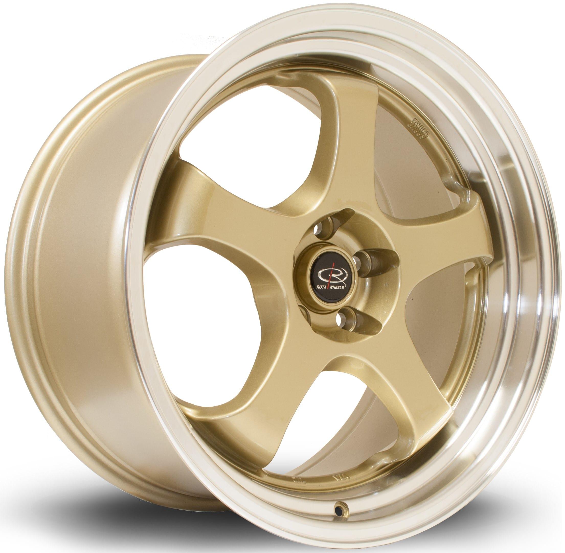 Rota - D2EX (Gold / Polished Lip)