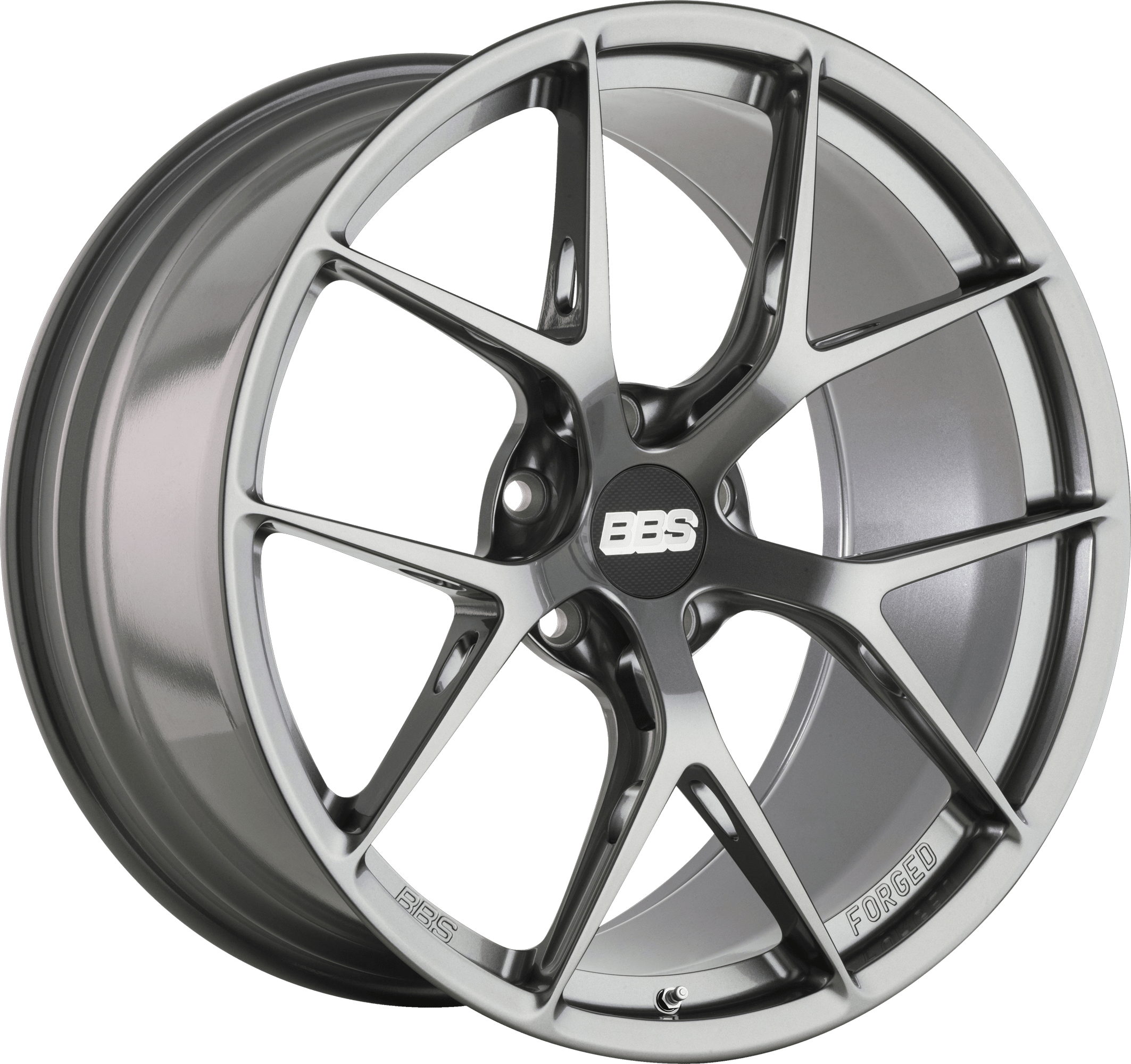 BBS - FI-R (Forged Individual) with Speed Holes (Platinum Gloss Silver)