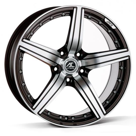 AC Wheels - Ultima (Black Polished)