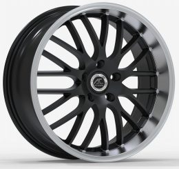 AC Wheels - Hypnotic (Matt Black Polished Lip)