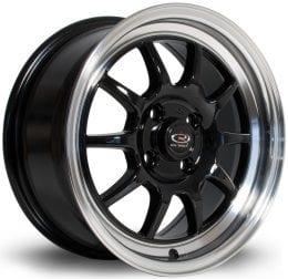 Rota - GT3 (Black / Polished Lip)