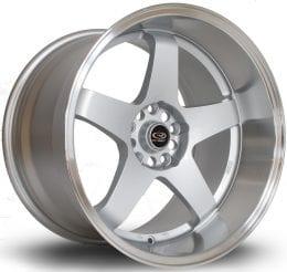 Rota - GTR-D (Silver / Polished Lip)