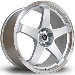 Rota - GTR (Silver / Polished Lip)